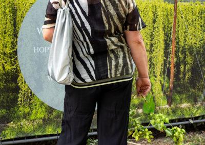 Bluse aus leichtem Baumwoll-Voile im Animalprint, Schnitt: abgenommen von einem Kaufteil