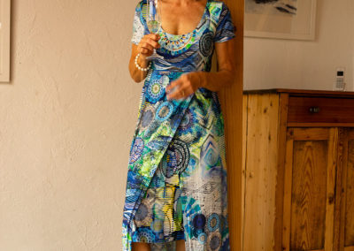 Jerseykleid, Schnitt: Hot summer days Maxikleid, Ottobre 2/15