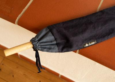 Schlichte Tasche aus Doubleface Baumwolle für Aikido-Utensilien