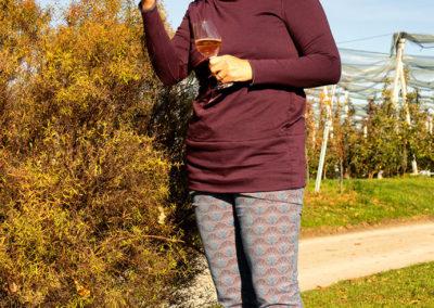 Schnitt: Hose Sabrina 2/2016, ital. elast. Jacquard - Shirt: eigener Schnitt