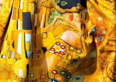 Detail, Jersey Klimt-Druck